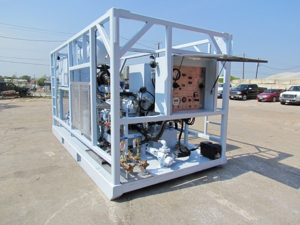 Nitrogen Units Skid Mounted | Precise Energy Products