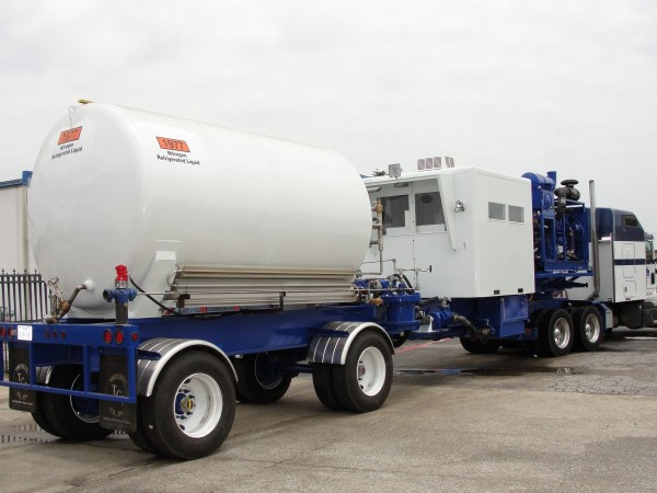 180k Nitrogen Unit Trailer Mounted