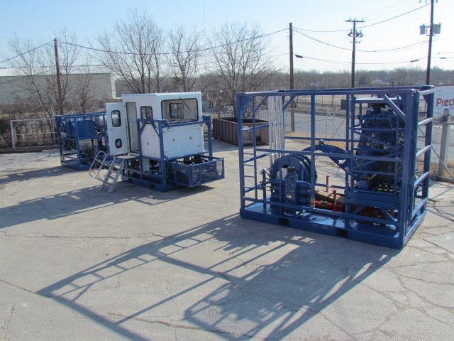 Four Skid Coiled Tubing Equipment