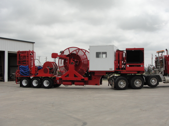 Coiled Tubing Unit Trailer Mounted