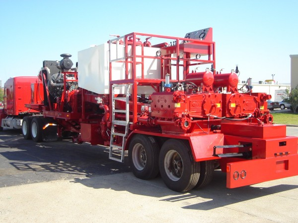 Twin Pump Trailer Unit