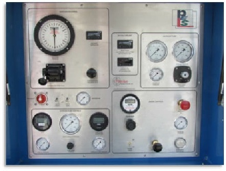 Cement Pumping Control Panel