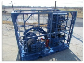Coiled Tubing Equipment Skid Mounted