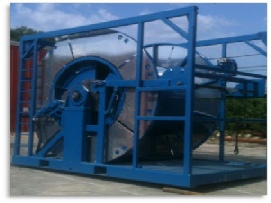 Coiled Tubing Unit Skid Mounted
