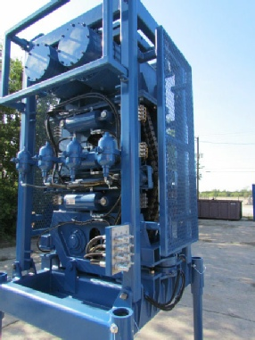 Coiled Tubing Injector Unit