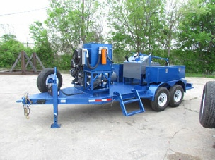 Slickline Unit Trailer Mounted