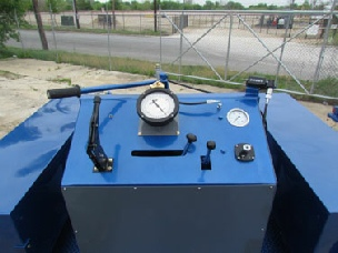 Slickline Trailer Mounted Unit Controls